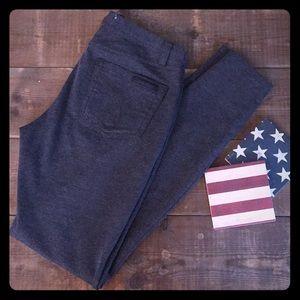 Grey Skinny Stretch Legging Pants